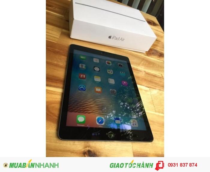 Ipad air 2 3g-4g wifi 16g full box còn bh chính hãng 11/2016 new 100%