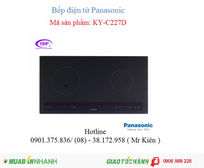 Bếp điện từ Panasonic KY-C227D