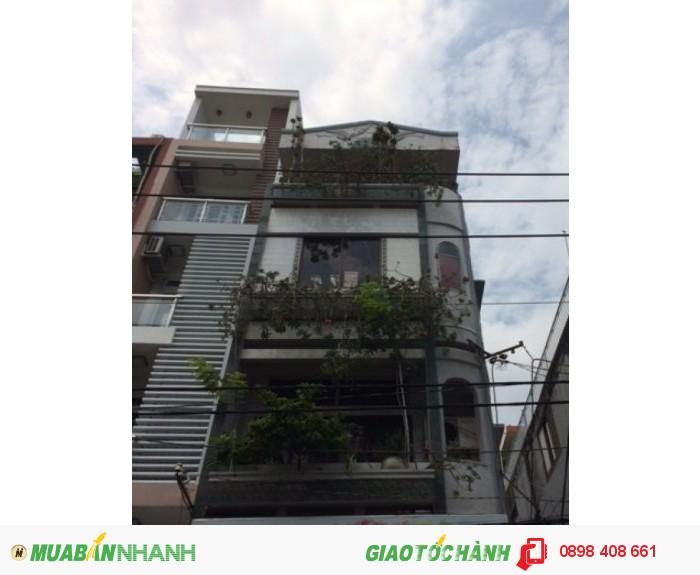 Bán nhà mặt tiền 4,5x10m  Hòa Hảo, P5, Q10 giá 8,5 tỷ
