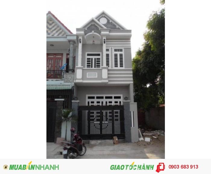 Nhà rẻ nở hậu 2 tầng 4.2x9m 980 tr ở Lê Văn Lương