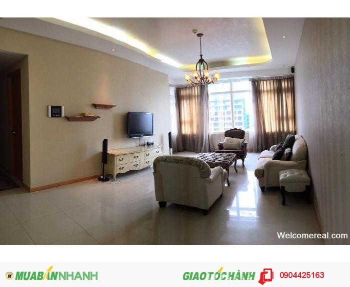 Cho thuê căn hộ Ruby Saigon Pearl 3 PN DT 140m2, nội thất đẹp