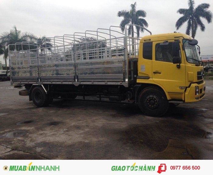 Xe tải thùng dongfeng b170 khuyến mãi lớn