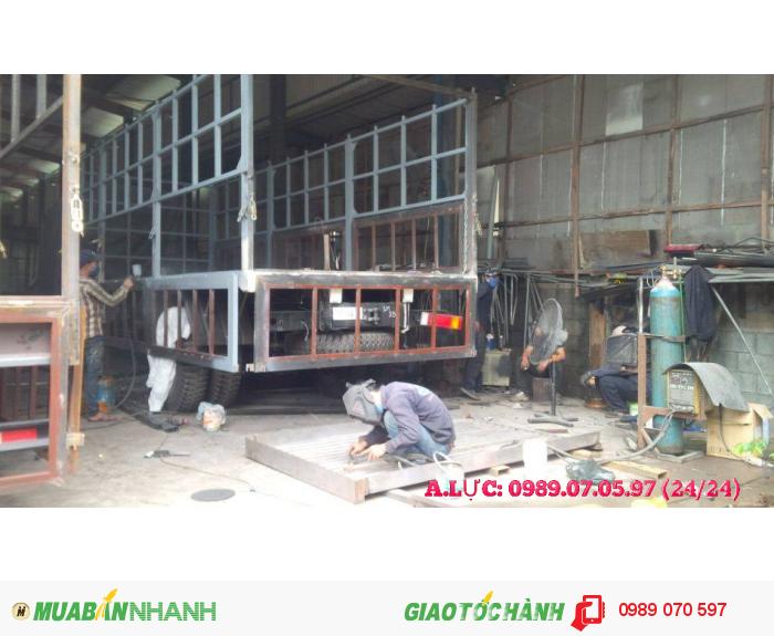 Nhận đóng mới các loại thùng xe tải. Sửa chữa cải tạo thùng xe