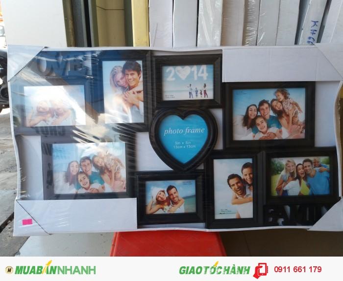 Khung ảnh lưu niệm cho cả gia đình bạn - Mã: KH21