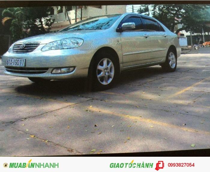 Toyota Corolla Altis sản xuất năm 2005 Số tay (số sàn) Động cơ Xăng