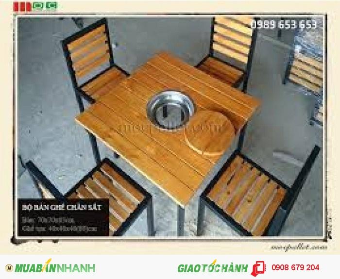 Trực tiếp sản xuất bàn ghế nhà hàng quán ăn giá siêu rẻ1