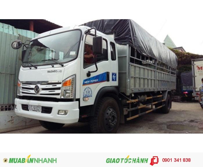 Đại lý cung cấp xe tải thùng tải ben Dongfeng Trường Giang