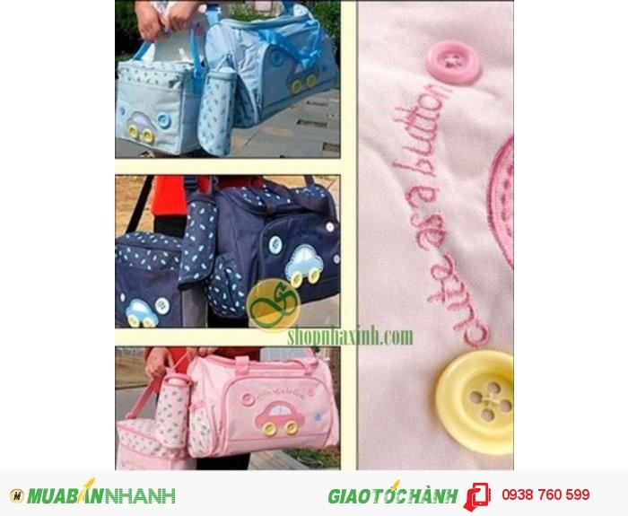 Túi Mẹ Và Bé Diaper Bags 3in1 Cao Cấp NX7303