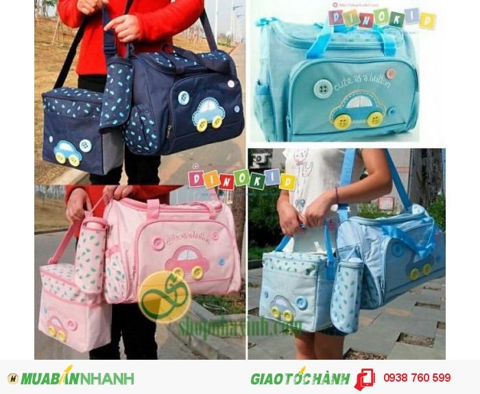 Túi Mẹ Và Bé Diaper Bags 3in1 Cao Cấp NX7304