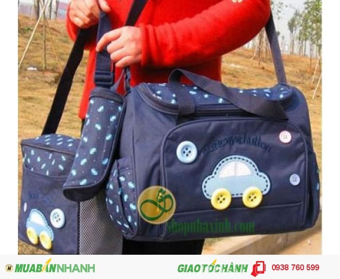 Túi Mẹ Và Bé Diaper Bags 3in1 Cao Cấp NX7301