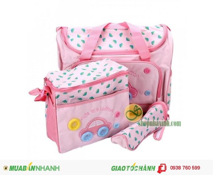 Túi Mẹ Và Bé Diaper Bags 3in1 Cao Cấp NX7302