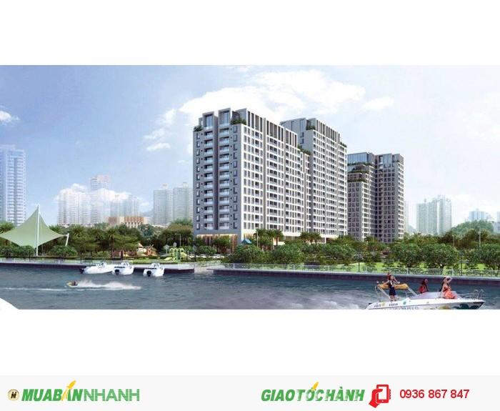 Căn hộ resort ngay sông Sài Gòn, theo phong cách nghỉ dưỡng