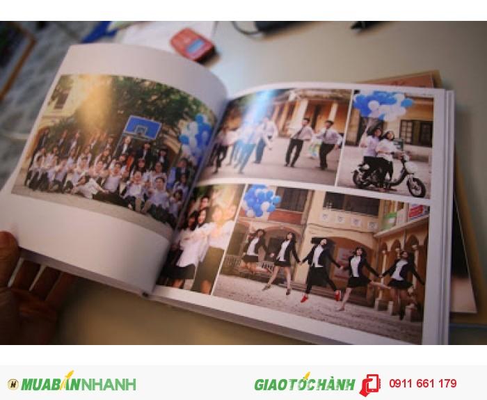 Photobook - Nơi lưu giữ thời gian - Size 15x15 cm, loại 20 tờ