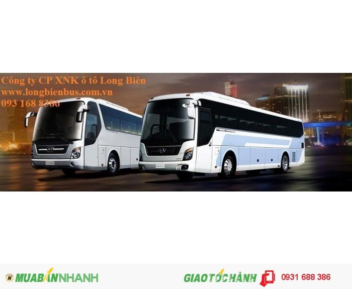 Xe khách 47-52 chỗ Daewoo, Huyndai, Samco, Thaco, Tracomeco 2016