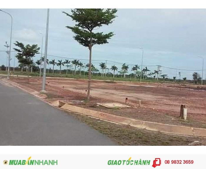 Đất nền ngay mặt tiền QL 22, SHR, thổ cư 100%, giá chỉ 75 triệu/ nền