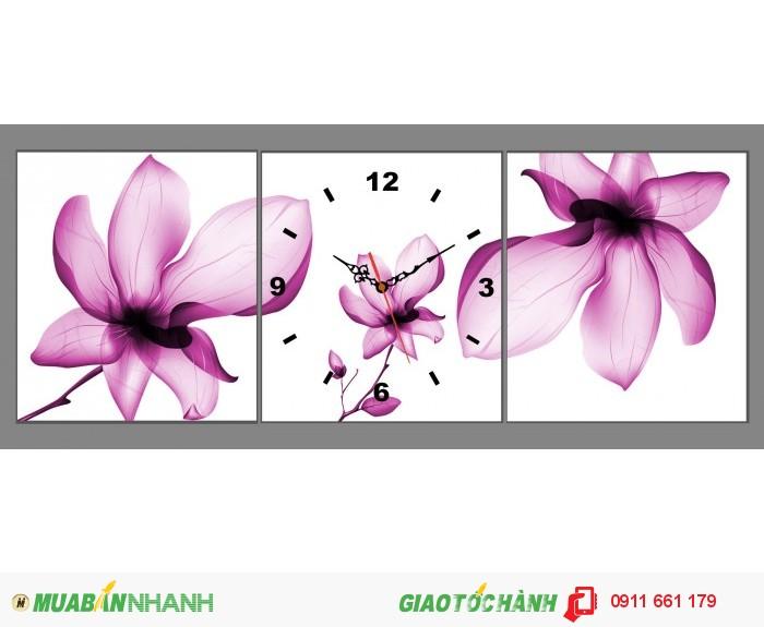 Tranh đồng hồ nghệ thuật4