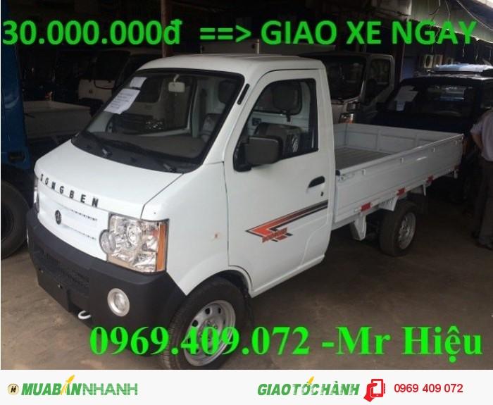 Bán xe tải DongBen 870kg , thùng lửng , có hỗ trợ trả góp và đóng thùng 30.000.000...