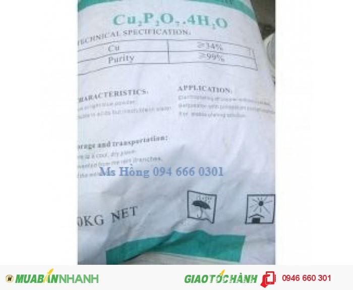 Copper Pyrophosphate, Cupric Pyrophosphate, Cu2P2O7.4H2O2