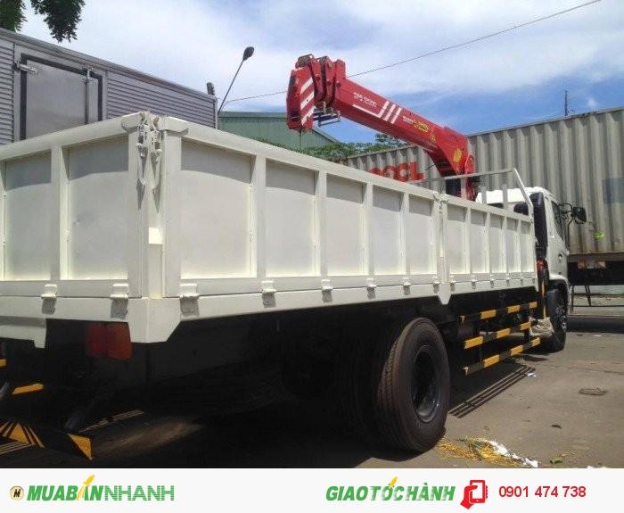 Xe tải cẩu HINO 0