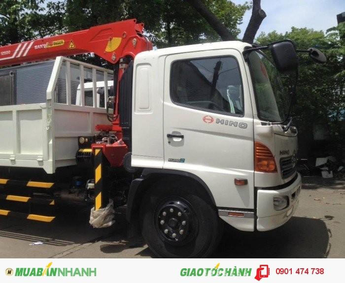 Xe tải cẩu HINO 1