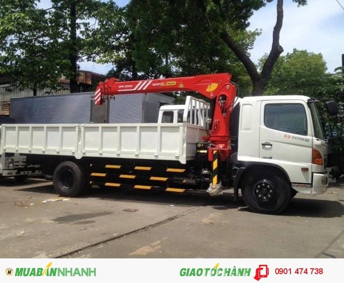 Xe tải cẩu HINO 2