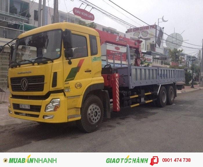 Xe tải DONGFENG gắn cẩu
