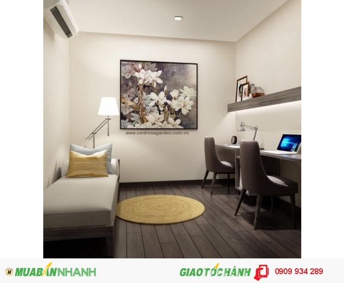 Mở bán căn hộ Hà Đô Centrosa, nơi an cư lý tưởng cho người thành đạt, thiết kế 5*