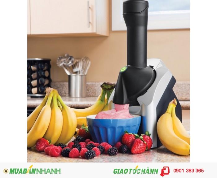 Làm kem cực kì đơn giản với Máy làm kem Yonauas - MSN383027