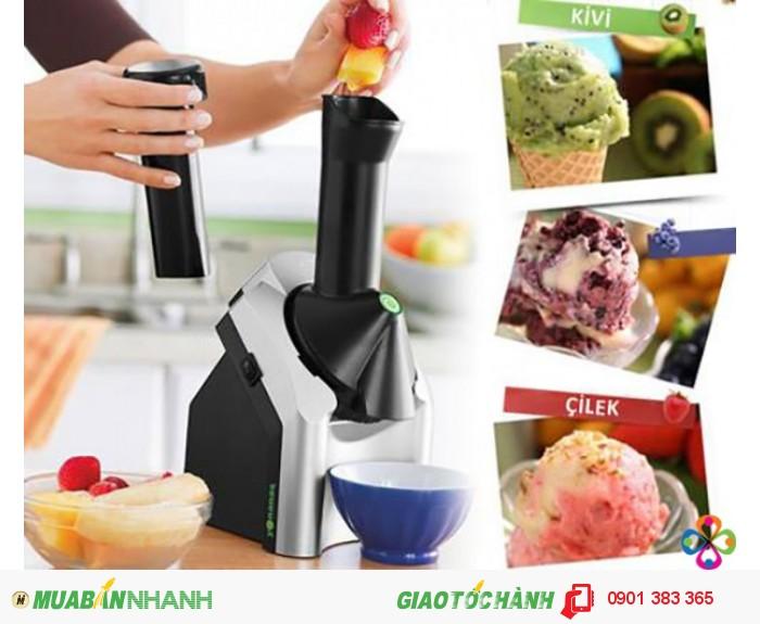 Yonauas là 1 giải pháp an toàn: có thể tự chế biến món kem với hương vị trái cây mà mình yêu thích ngay tại nhà, đảm bảo dinh dưỡng và an toàn thực phẩm, không lo sợ hóa chất bảo quản, cất phụ gia độc hại ....
