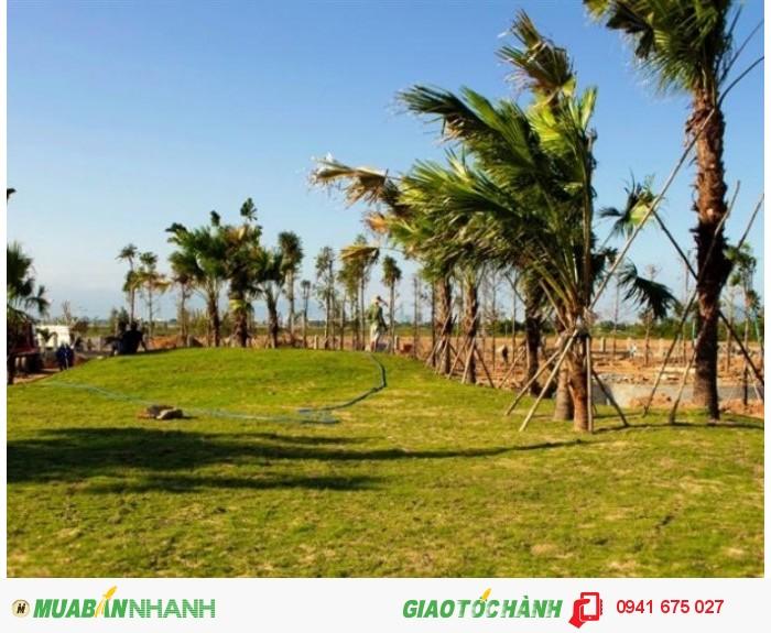 Nhanh tay sở hữu lô duy nhất đối diện công viên Hòa Qúy, ở đại lô Võ Chí Công, quá đẹp
