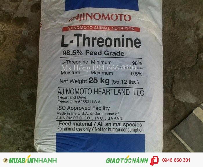 Threonine, Axit Threonine, Acid Threonine, Acid Amin, Axit Amin2