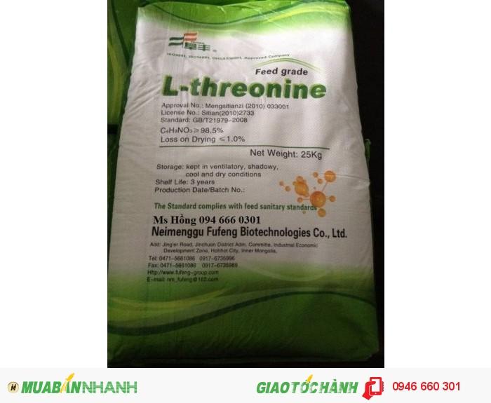 Threonine, Axit Threonine, Acid Threonine, Acid Amin, Axit Amin1