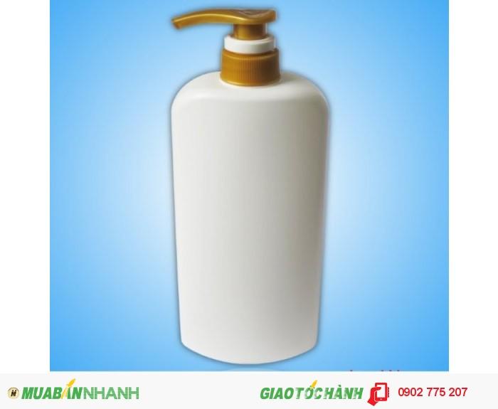Chai nhựa sữa tắm 1 lít0