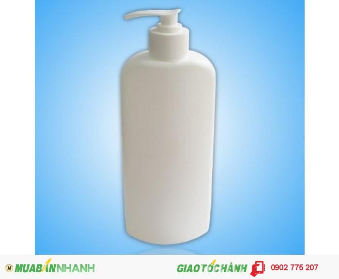 Chai nhựa sữa tắm 500ml1