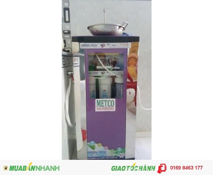 Máy lọc nước RO, tủ kiến cường lực, màu tím