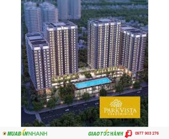 CHCC Park Vista khu nam Sài Gòn, giá 1,5 tỷ căn 2 phòng ngủ 2WC 75m2