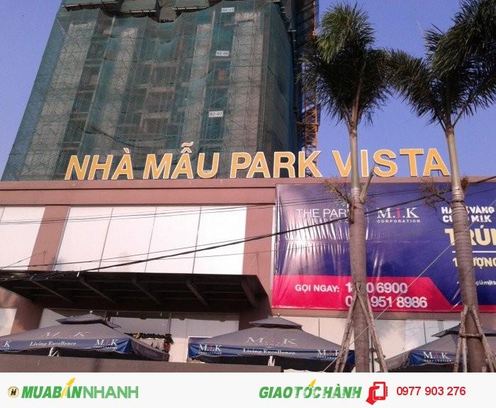 Park Vista căn hộ cao cấp tại khu Nam giá chỉ 20tr/m2 - căn 58m2 chỉ 1,3 tỷ