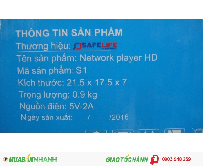 Android TV Box SAFELIFE S1, SẢN XUẤT TẠI VIỆT NAM4