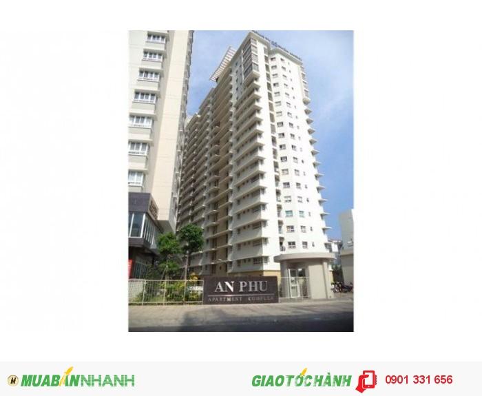 Bán căn hộ An Phú đường Hậu Giang, Quận 6, DT: 81.5m2, giá 1,77 tỷ. Nhận nhà ngay, TT nhanh giảm 6%