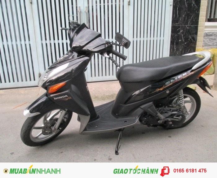 Honda Click đời 2k9,màu đen