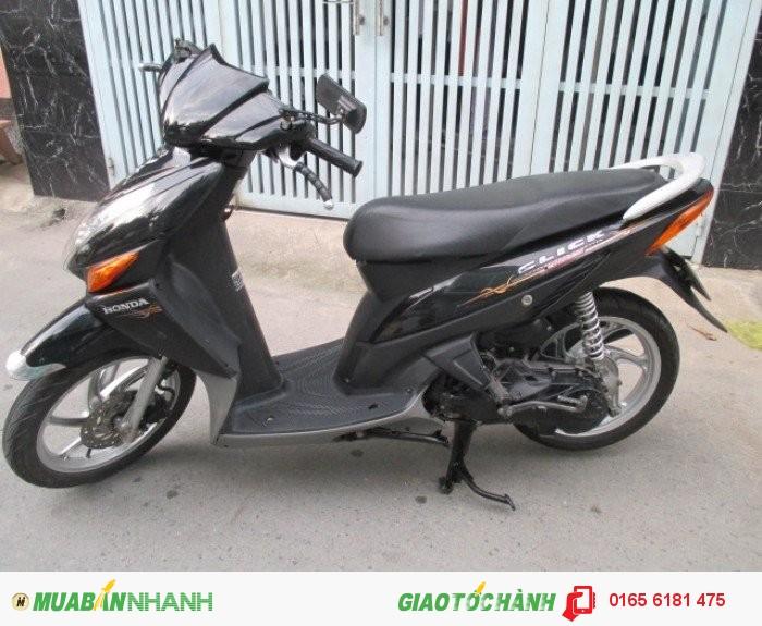 Honda Click đời 2k9,màu đen 2