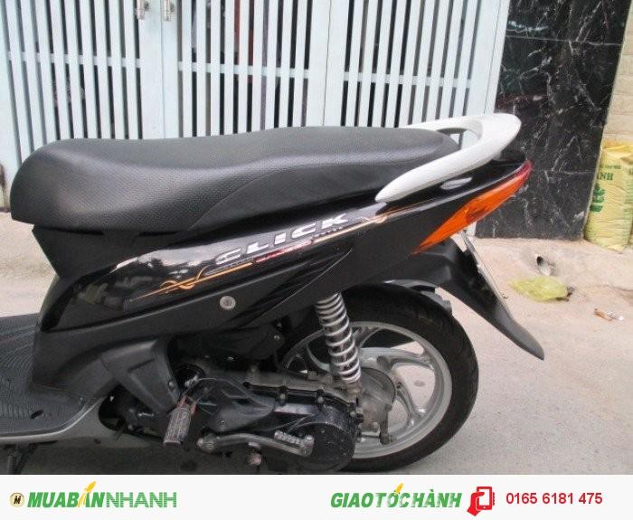 Honda Click đời 2k9,màu đen 3