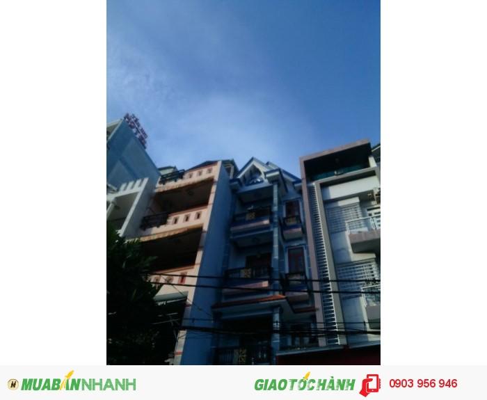 Bán Nhà Mặt Tiền Đường Số 51, phường 14, Gò Vấp, 4x14m (Nở Hậu) 1 trệt+ 1 Lửng, 3 lầu, 6PN, Tây Nam, 6WC