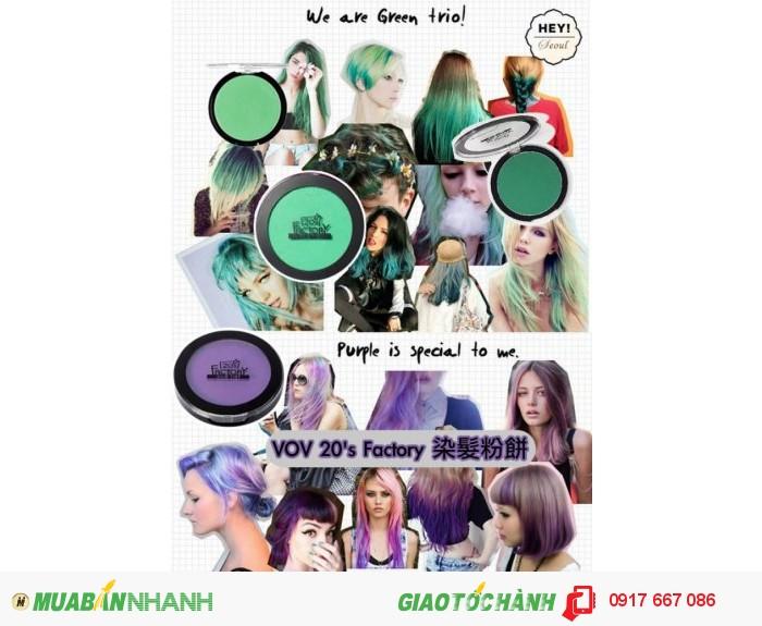 Phấn Nhuộm Tóc VOV Hair Tint 20'S Factory2