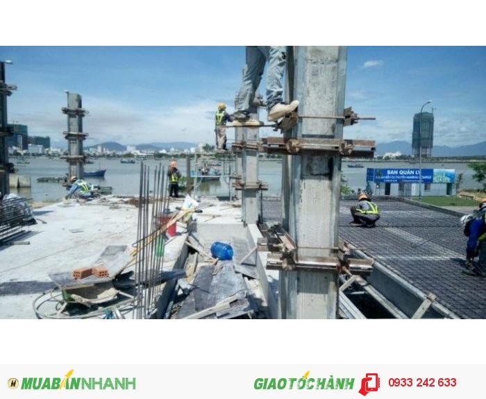 Hình ảnh cập nhật tiến độ xây dựng phố kinh doanh Marina Complex Đà Nẵng- Ven sông Hàn
