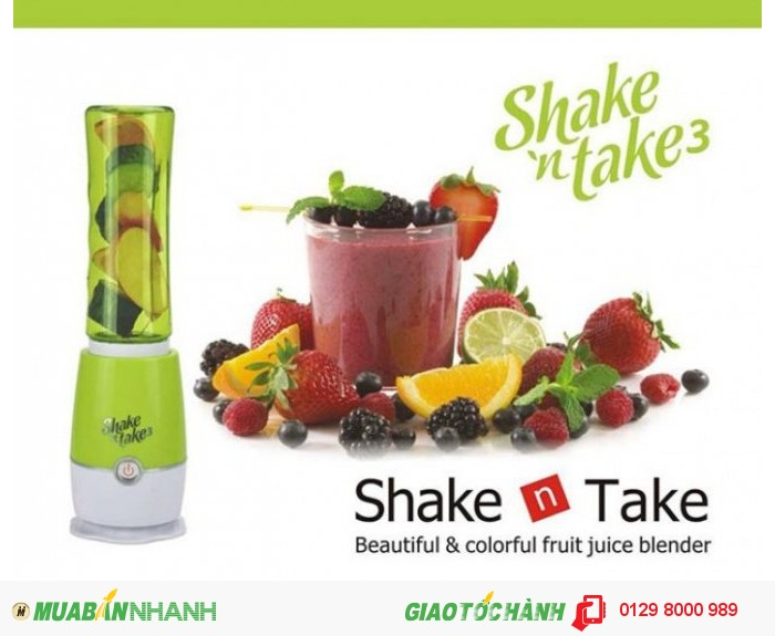 Máy xay sinh tố Mini Shake Take màu xanh lá