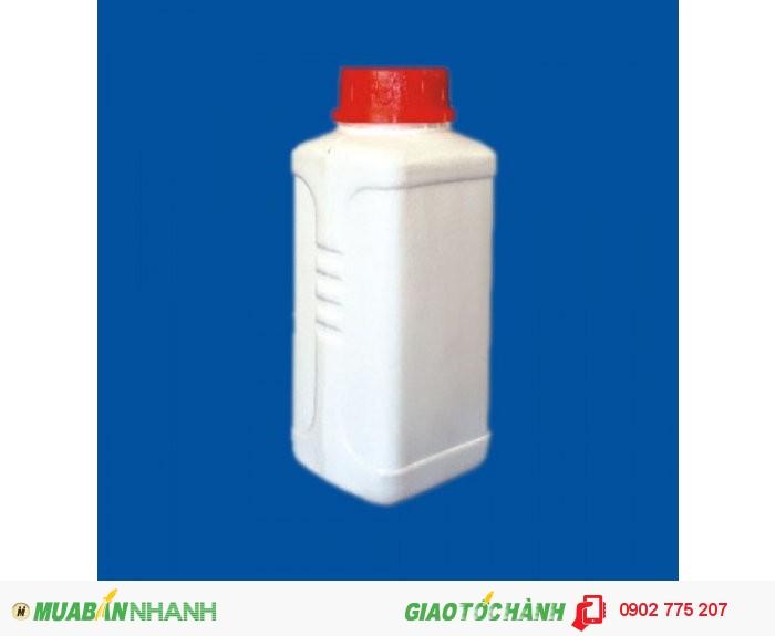 Chai nhựa 1 lít, chai nhựa đựng hóa chất, chai nhựa ngành nông dược 1 lít1