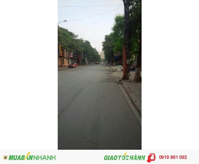 Bán nhà mặt phố Trần Duy Hưng : 80m2, mặt tiền 6.5 m, KD siêu đắc địa, sầm uất
