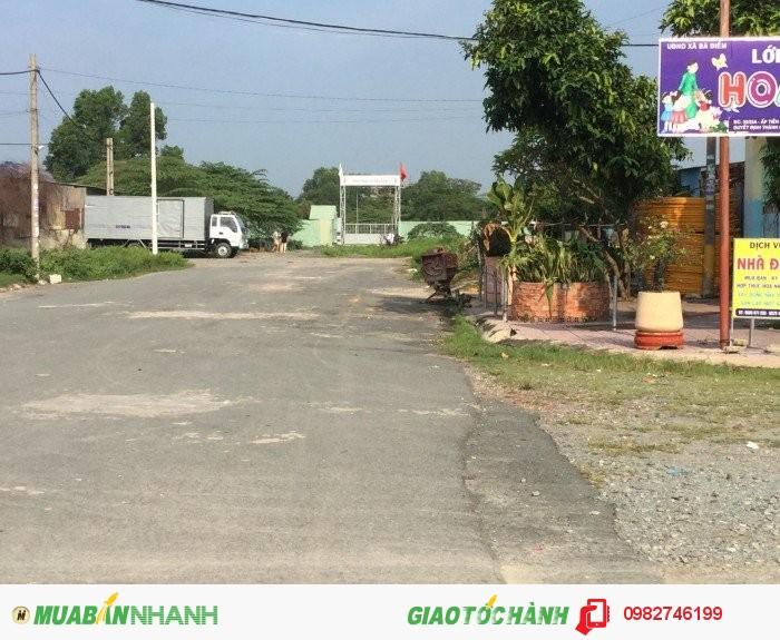 Bán đất nông nghiệp mặt đường 30 mét liền kề KDC xã Bà Điểm, Hóc Môn