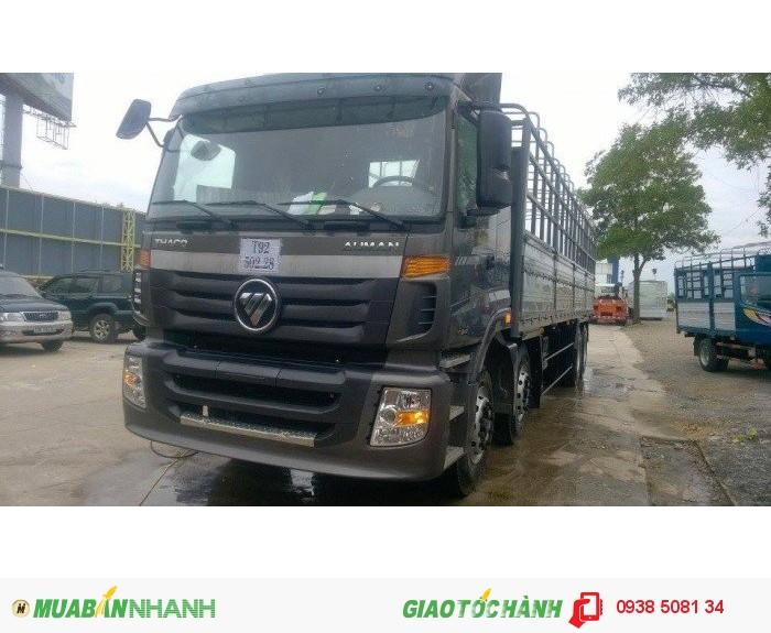 Xe tải 4 chân Thaco Auman C3000B (8x4), tải trọng 18 tấn hỗ trợ trả góp 70%